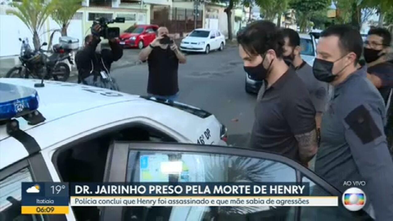 Polícia prende Dr. Jairinho e mãe de Henry Borel nas investigações da morte do menino