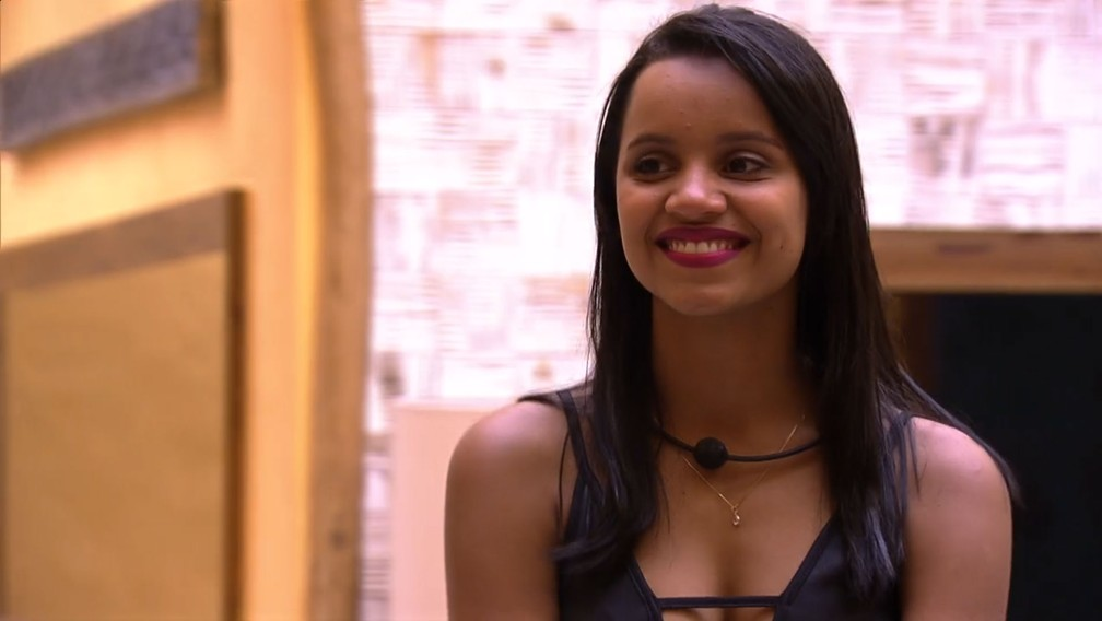 Gleici na final do 'BBB18' — Foto: TV Globo