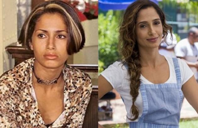 Camila Pitanga, a Regina de 'Babilônia' (foto à direita), foi Alex na segunda temporada (Foto: Arquivo)