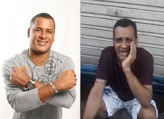 Resultado de imagem para Ex-vocalista do Timbalada, Xexéu é filmado pedindo ajuda nas ruas de Salvador