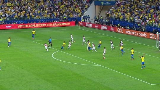 Vantagem no placar, o cenário perfeito para o Brasil fazer valer sua ideia de jogo