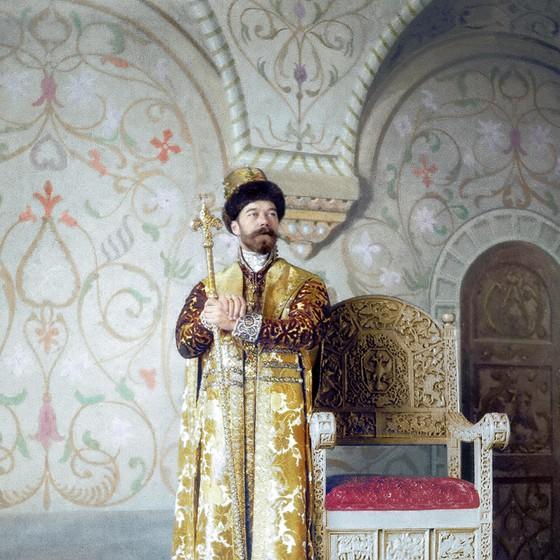 Nicolau II, o último imperador da Rússia. (Foto: COLORIZADAS POR MARINA AMARAL)