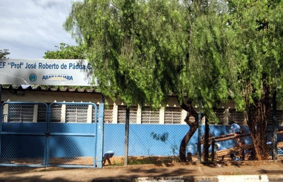 Escorpião pica criança dentro da sala de aula em Araraquara — Foto: Amanda Rocha/A Cidade ON/Araraquara