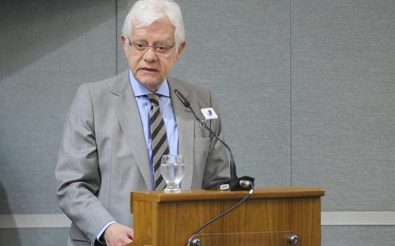 O ministro da Secretaria-Geral da Presidência da República, Moreira Franco (Foto: Pedro França/Agência Senado)