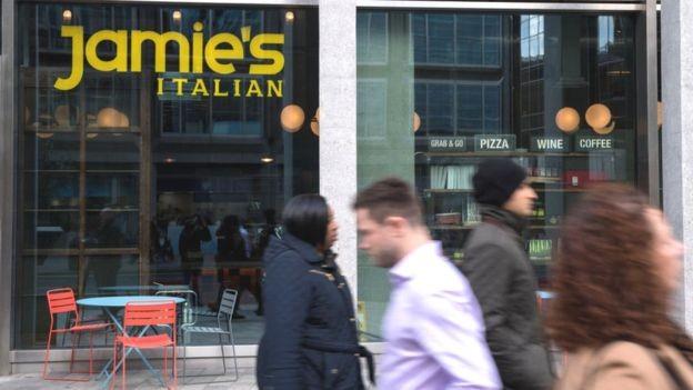 O império de Jamie Oliver ficou sob administração judicial da gestora KPGM (Foto: Getty Images via BBC News Brasil)