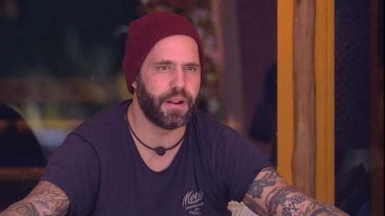 Caruso sobre brothers: 'Querem ficar com a casa só para eles'