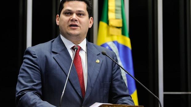 Davi Alcolumbre, senador do DEM. (Foto: Moreira Mariz/Agência Senado.)