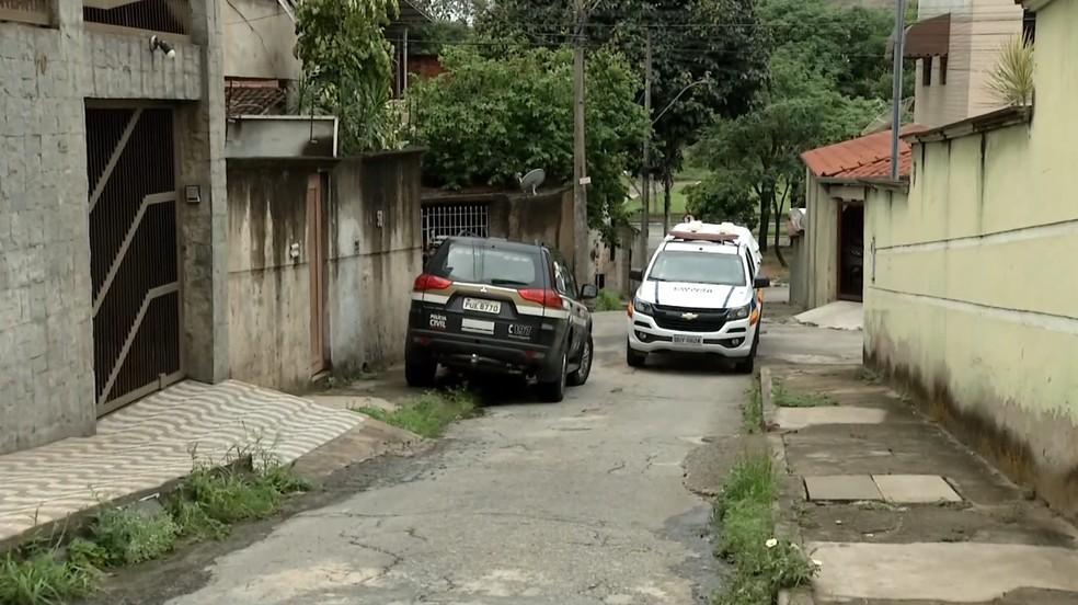 Tentativa de assalto aconteceu no bairro Novo Cruzeiro, em Ipatinga — Foto: Reprodução/Inter TV dos Vales