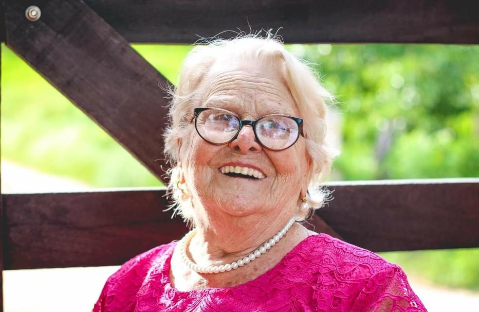 Maria Rita afirma que o segredo da longevidade é ser contente (Foto: Jaqueline Martins | Arquivo Pessoal)