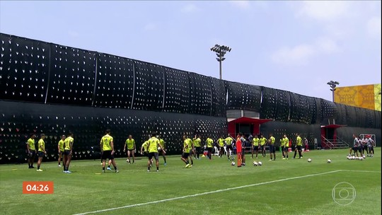 Flamengo faz mistério no primeiro treino para a final da Libertadores