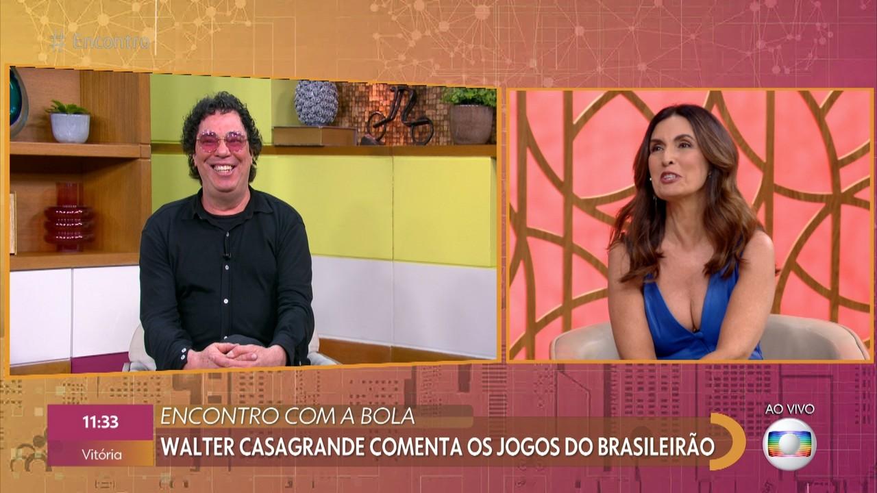 Walter Casagrande analisa a rodada de fim de semana do futebol