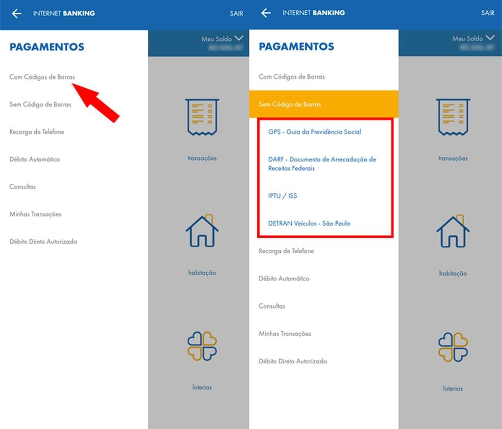 sem-codigo-de-barras Como usar o aplicativo da Caixa