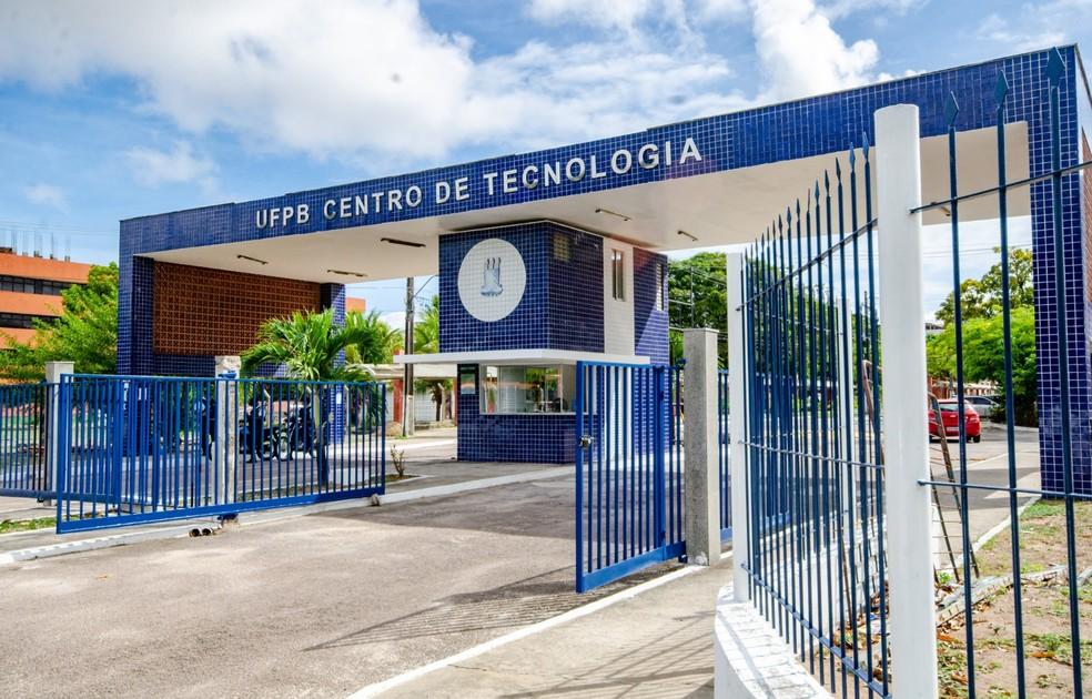 Centro de Tecnologia da UFPB em João Pessoa — Foto: Angélica Gouveia/UFPB