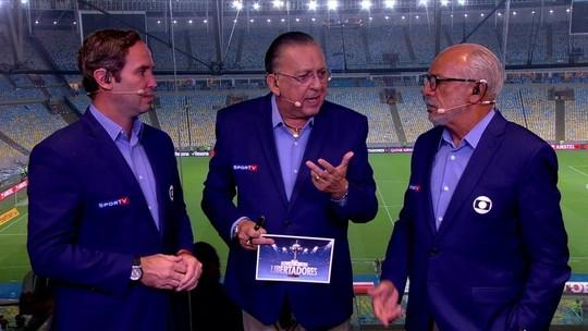 """Galvão define Flamengo após goleada: """"É quem mais se assemelha à Holanda dos anos 70"""""""