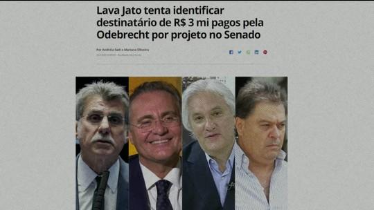 PF levanta suspeitas sobre Jucá, Renan, Delcídio e Gim Argello