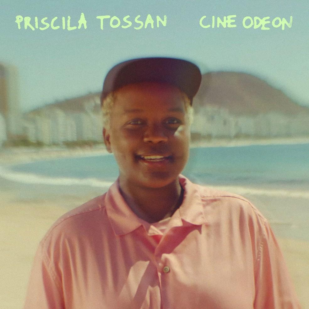 Capa do EP 'Cine Odeon', de Priscila Tossan — Foto: Thiago Calviño