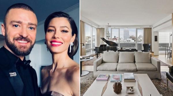 O apartamento colocado no mercado por Justin Timberlake e Jessica Biel (Foto: Instagram/Divulgação)