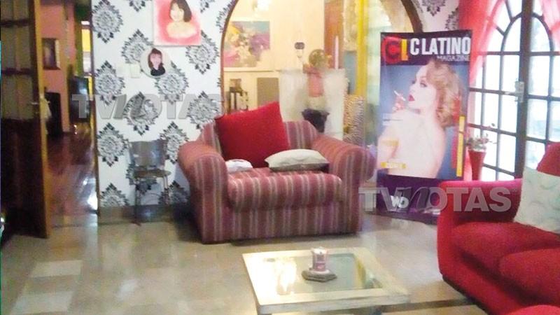 Casa de Gabriela Spanic no México (Foto: Reprodução TV y Notas )
