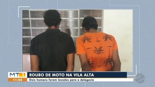 Dois homens são presos suspeitos de roubar veículos