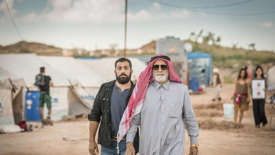 Como foi feito o acampamento de refugiados de 'Órfãos da Terra'? Confira nos vídeos
