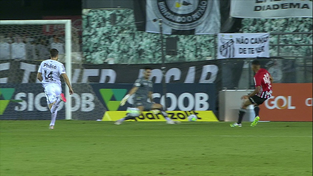 Melhores momentos: Santos 2 x 2 São Paulo pela 10ª rodada do Campeonato Brasileiro 2020