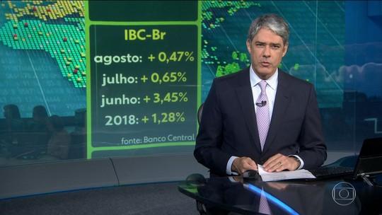 Economia brasileira cresceu 0,47% em agosto, segundo BC