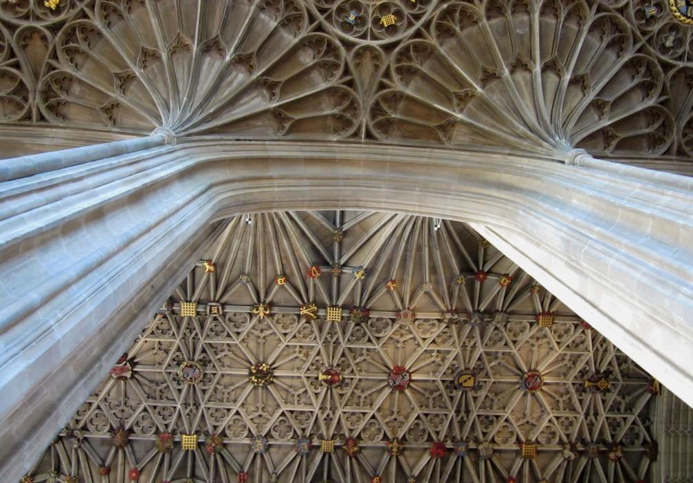 Teto da capela de St George (Foto: Flickr/Luis Tamayo/2.0)