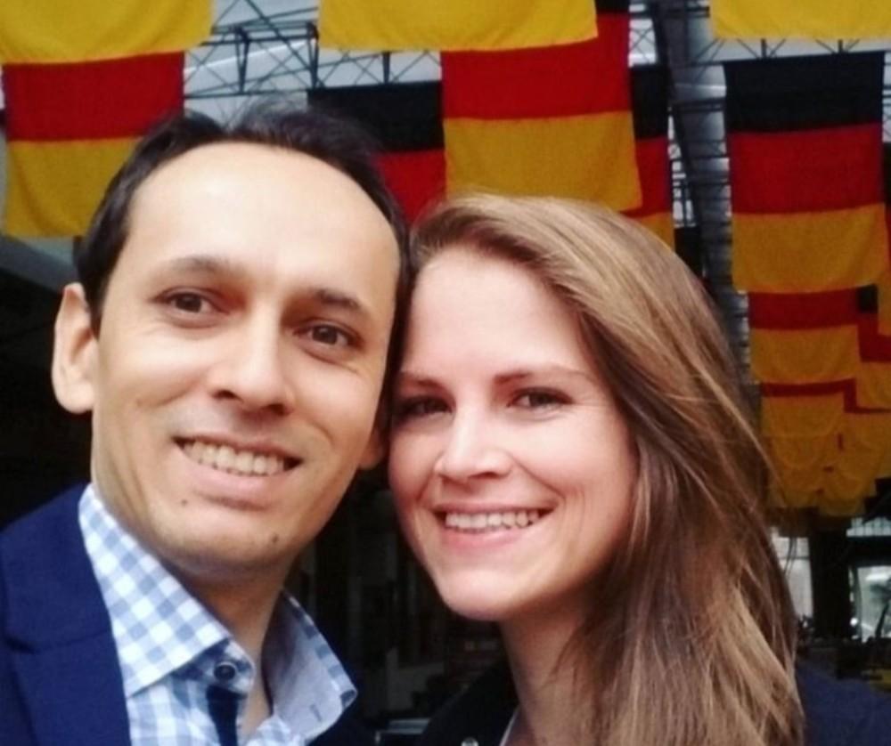 Jonathas e Adriana foram encontrados mortos no Chile — Foto: Noemi Fortunato Nascimento/Divulgação