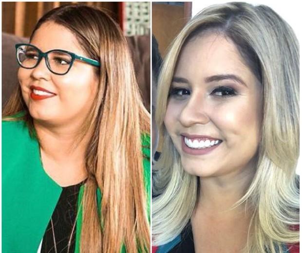 O antes e o depois de Marília Mendonça (Foto: Reprodução/Instagram)