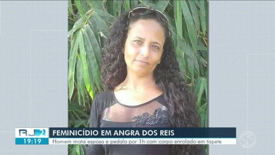 Homem mata esposa em Angra dos Reis e pedala por uma hora com corpo enrolado em tapete