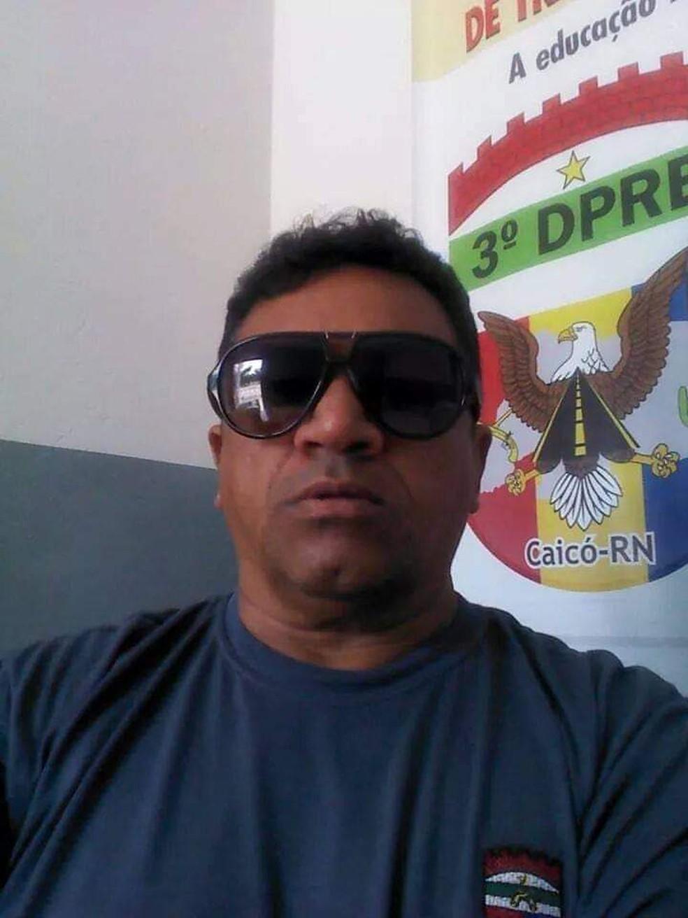 Cabo Gutemberg atuava pelo GTO da cidade de Jucurutu — Foto: Cedida
