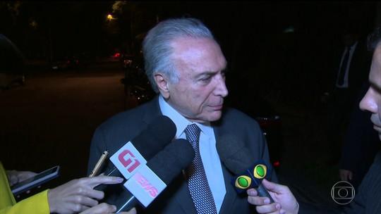 Temer se entrega à PF em São Paulo após nova ordem de prisão