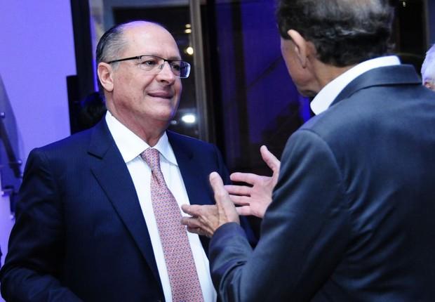 O governador do estado de São Paulo, Geraldo Alckmin, durante premiação do anuário Época NEGÓCIOS 360° (Foto: Sylvia Gosztonyi/Editora Globo)