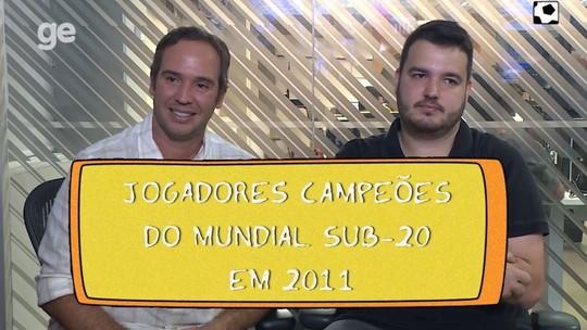 Caio Ribeiro tenta escalar a Seleção sub-20 campeã mundial em 2011. Você saberia? Assista