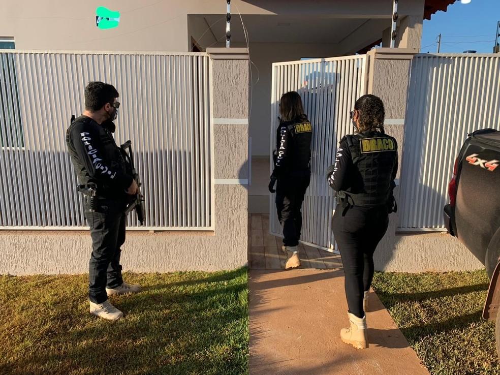 Operação mira funcionários do Banco do Brasil em Rondônia — Foto: Polícia Civil/Divulgação