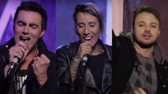 Conheça os três finalistas a novo vocalista da Malta