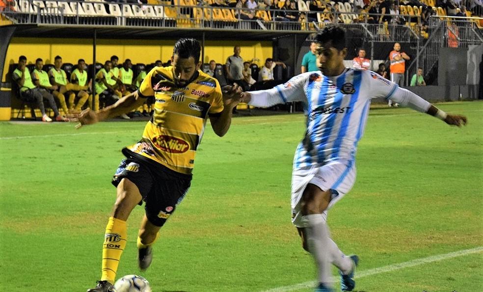 O Macaé foi derrotado por 2 a 1 pelo Novorizontino no jogo de ida da segunda fase da Série D (Foto: Thomaz Jannuzzi/Grêmio Novorizontino)