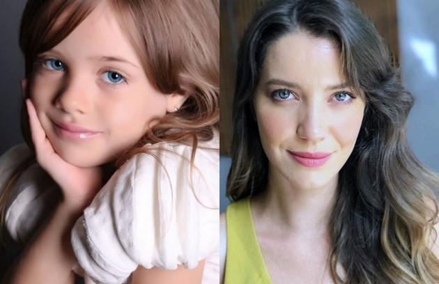 Maria Clara Baldon e Nathalia Dill darão vida a Fabiana. A menina, filha de Zenaide (Maeve Jinkings), também crescerá longe da família (Foto: Reprodução Instagram)
