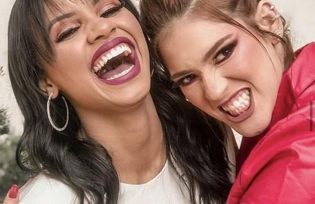 """Vencedora do """"BBB"""" 18, Gleici ganhou também no programa uma grande amiga, Ana Clara. Os fãs chamam as duas de """"GleiciAna"""" Reprodução"""