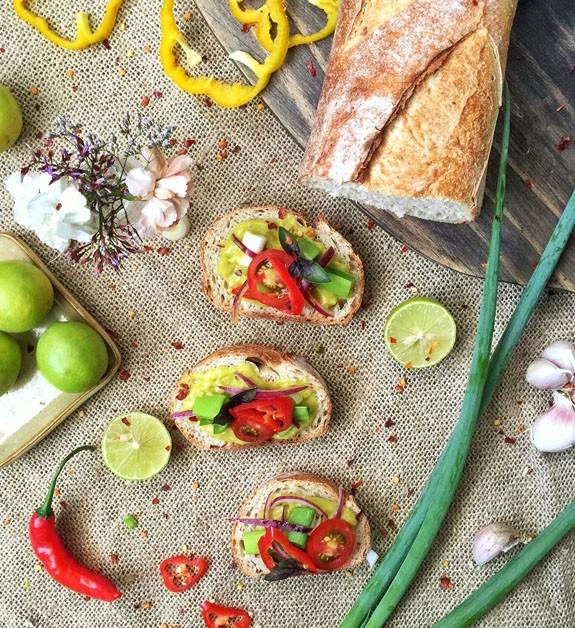 Sanduíches saudáveis com abacate (Foto: Foto: S Simplesmente)