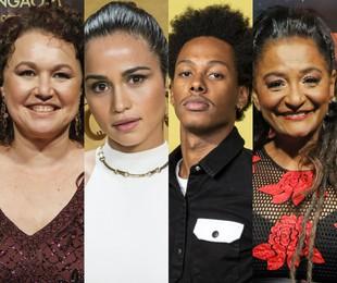 Kelzy Ecard, Nanda Costa, Dan Ferreira e Claudia Di Moura | TV Globo