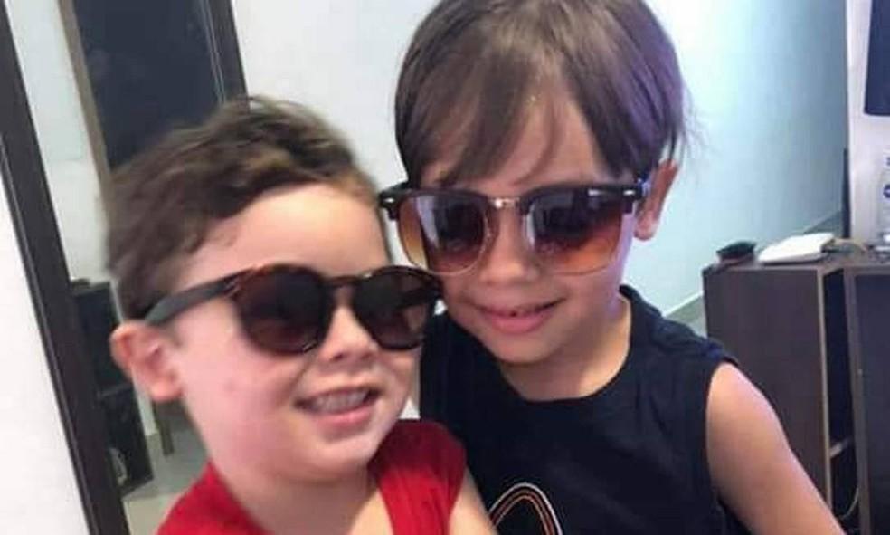 Enzo e Arthur estavam na lista de desaparecidos na Muzema — Foto: Reprodução