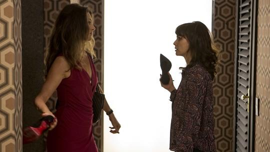 Confira os bastidores da cena da briga de Joyce e Irene em 'A Força do Querer'