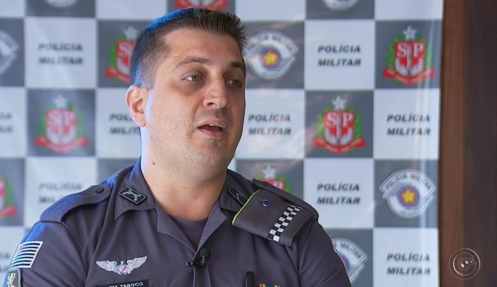 Renato lembra de cada detalhe da ocorrência que terminou em acidente em Paraguaçu Paulista (Foto: Reprodução / TV TEM )