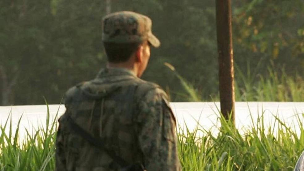 Os sete soldados envolvidos reconheceram culpa pelo estupro, segundo o procurador-geral da Colômbia — Foto: Getty Images