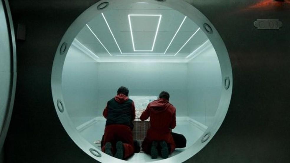 Mais de 4 milhões de pessoas na Espanha assistiram à estreia do programa — Foto: Netflix
