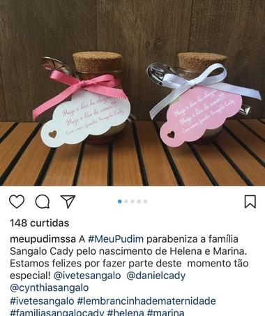 Lembrancinha Ivete (Foto: Reprodução Instagram)