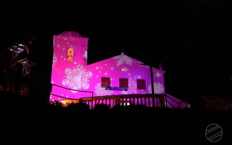 Igreja de Nossa Senhora do Rosário e São Benedito (Foto: TVCA/Reprodução)