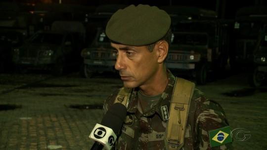 Exército em Alagoas dá apoio para trazer combustível de Suape, em PE, para Aeroporto Zumbi dos Palmares