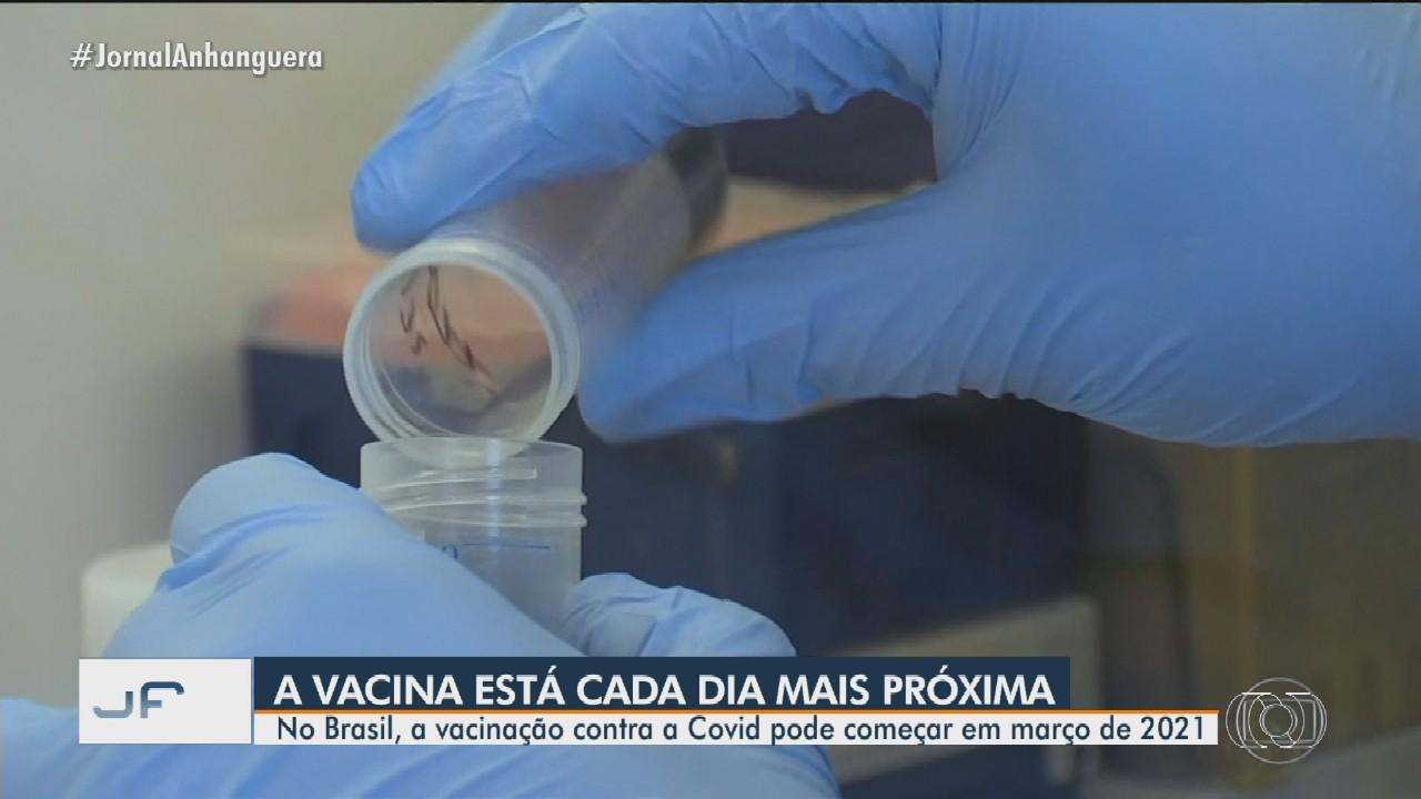 No Brasil, a vacinação contra a Covid-19 pode começar em março de 2021